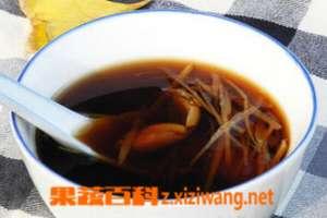 生姜大蒜红糖水的作用
